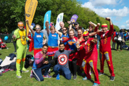 Woman's Trust - fundraising - calling all superheroes - latest news
